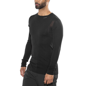 Devold Hiking - Camiseta de manga larga Hombre - negro